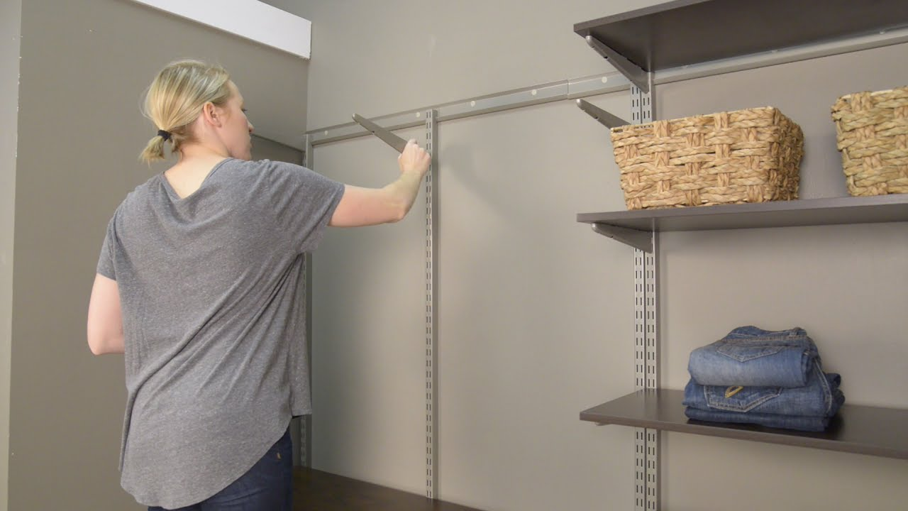 Adjusting Your FreedomRail Closet