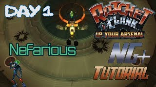 "Ratchet and Clank: Up Your Arsenal NG+ Speedrunning Tutorial Series - ""Day 1"" Nefarious"