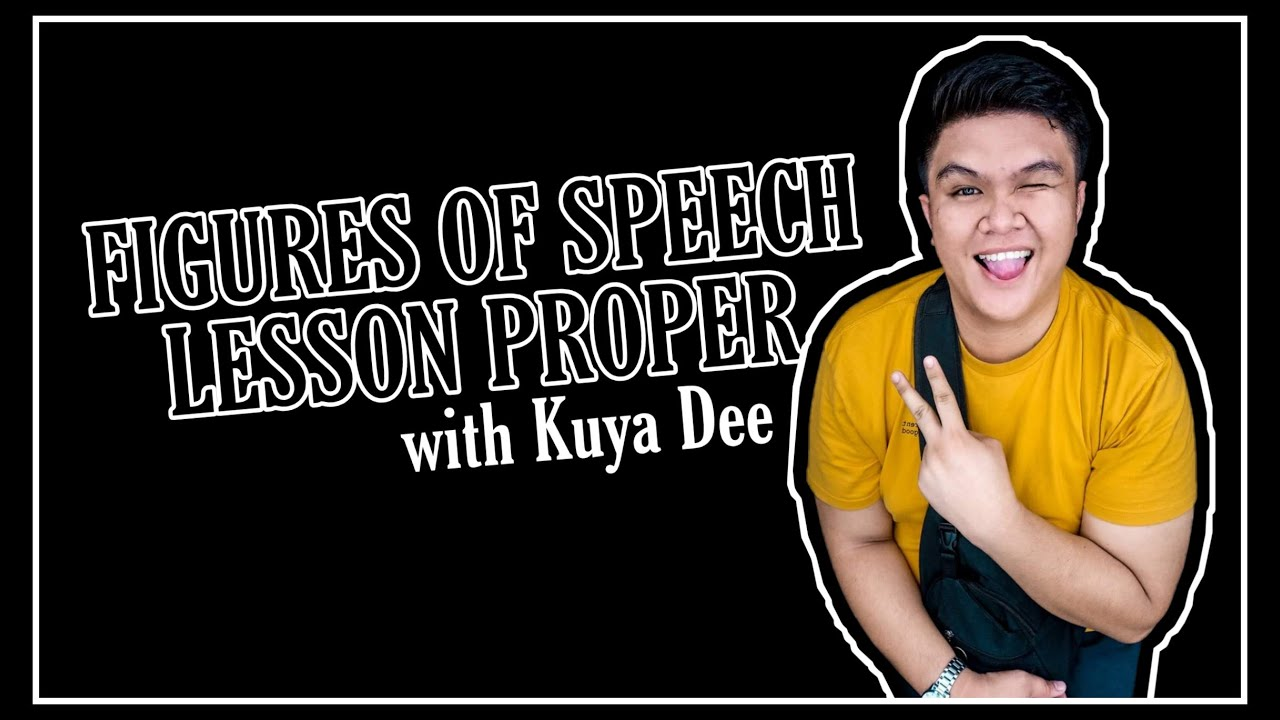 Figures Of Speech Lesson Proper Youtube