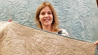 Sometimes Less is More? | In Depth Long Arm Quilting