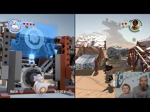 Ajs Gaming World: Lego Star Wars Force Awakens ep1 |