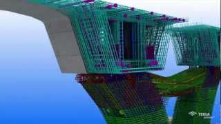 Tekla Global BIM Awards 2011 Concrete category winner - Urban Superway, Australia