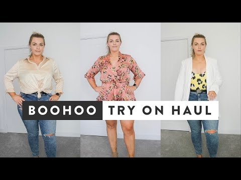 Boohoo Try On Haul | Honest Opinion Curve Fashion