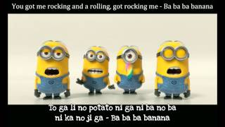 Banana and Potato Song ( Sub Lyric with Engtrans ) - Despicable Me 2