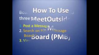 How to Use MeetOutside PMB Dating Ads