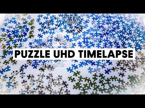 Puzzle Solving Timelapse - Malta 500pcs (UHD)