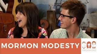 3 Mormons discuss modesty in clothing and how Mormons are encourage...