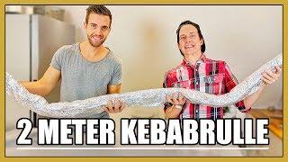 Vi äter en JÄTTE-Kebabrulle