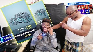 Kid Buys 16,000 V Bucks On FORTNITE With Dad's Credit Card... [MUST WATCH] (FREAKOUTS)
