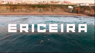 Ericeira Portugal Surf from the air