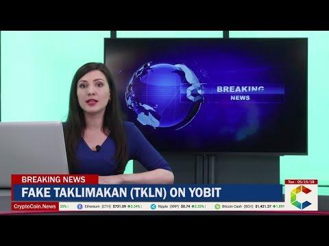 Warning: Fake Taklimakan (TKLN) On YoBit
