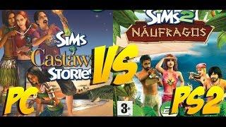Sims 2 Naufragos VS Sims 2 Historias de Naufragos - GamesRandom