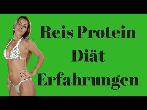 Abnehmen mit Reisprotein