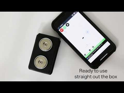 The New Micro Magnetic GPS Car Tracker