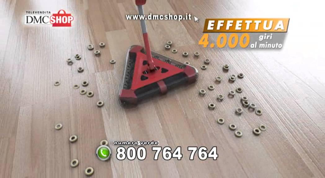 Scopa Elettrica Tda.Super Sweeper Plus La Scopa Elettrica Senza Fili Per Le Pulizie Di Casa