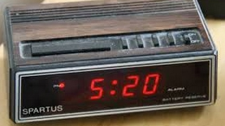 1982 Clock Radio Infected by 21St. Century A.i. - #IndyJarvis