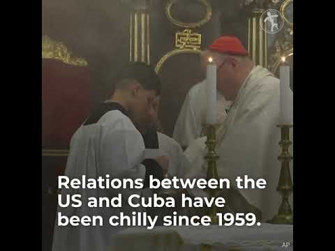 Cardinal Dolan making pastoral visit to Cuba