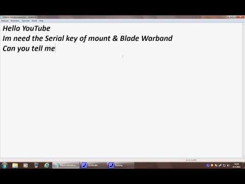mount and blade keygen 1.011