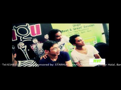 UNGU in Singapore version Hampa Hatiku for Starhub/MVP Travel Video