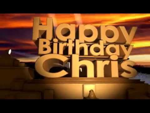 Image result for happy birthday, chris