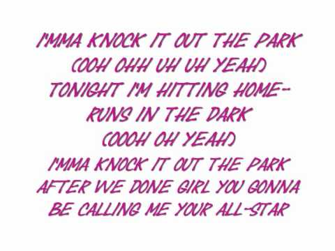 Day 26 (Willie Taylor) - Knock It Out The Park with Lyrics