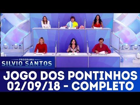 Jogo dos Pontinhos | Programa Silvio Santos (02/09/18)