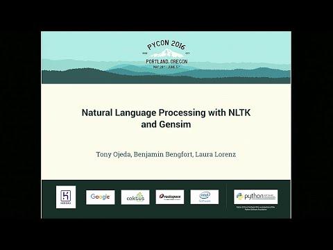 Tony Ojeda, Benjamin Bengfort, Laura Lorenz - Natural Language Processing with NLTK and Gensim