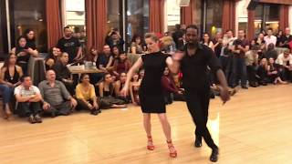ZWELI & EVA SALSA DANCE @ THE GRANADAS LA BEST SOCIAL DANCERS COMPETITION 2018