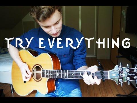 Shakira - Try Everything - Guitar Cover (Music) | Mattias Krantz