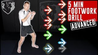Follow Along Footwork Drill: Advanced Boxing