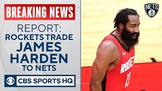 Rockets trade James Harden to Nets for enormous package of players, picks, per report| CBS Sports HQ