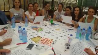 Teambuilding - Урок по глаголица