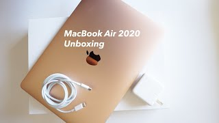 MacBook Air 2020 - Gold 🔥 Unboxing