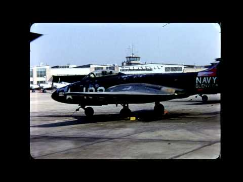 Naval Air Station Glenview in the 1950s - HD Home Movies