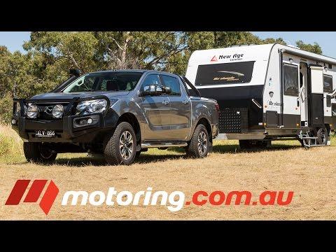 2017 Mazda BT 50 Tow Test | motoring.com.au