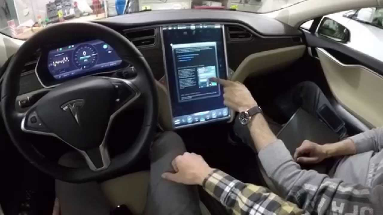 Tesla model s 85d in depth interior tour discussion youtube for Interior tesla model s