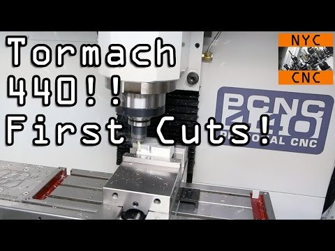 Thumbnail: Tormach 440 - Unpacking & INCREDIBLE first cuts!