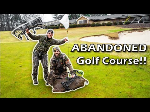 HUNTING An Abandoned GOLF COURSE!! (In The CITY)
