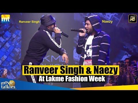Ranveer Singh Turns Rapper @ Lakme Fashion Week 2019 ¦ Apna Time Aayega ¦ Gully Boy