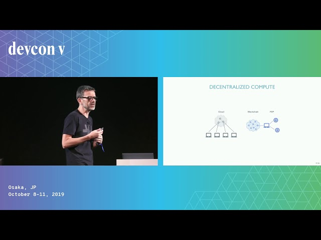 The Future of P2P Applications by Rich Burdon (Devcon5)