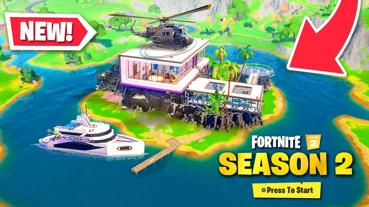 *NEW* Chapter 2 SEASON 2 MAP in Fortnite! (BIG CHANGES)