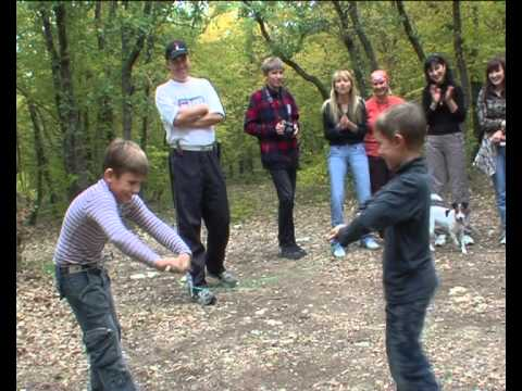 Веселые игры на природе. Видеоинстукция