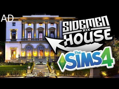 THE SIDEMEN HOUSE in Sims 4 (AD)
