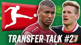Bayer Leverkusen, FC Augsburg, VfL Wolfsburg uvm! Bundesliga Transfer Talk #2