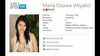 Maria Ozawa (MIYABI) Profil Artis JAV