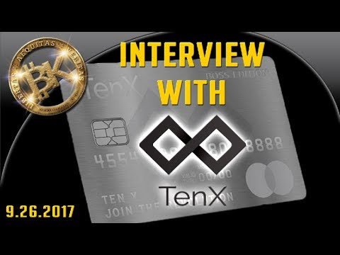 BK & TENX PAY 💳 Dr Julian Hosp Blockchain Technology 2017 Comit Simpsons FinTech Startup Steve Jobs