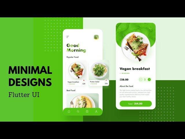 FlutterUI - Minimal Designs - Green Revolution