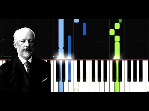 Tchaikovsky   Old French Song from Children's Album, Op 39, No  16   Easy Piano Music