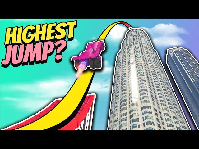 GTA 5 | HOW HIGH Can You JUMP?