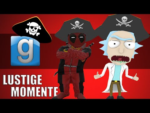 Gmod Pirateship Wars Lustige Momente - Die schlimmsten Piraten aller Zeiten